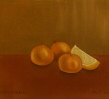 Citrus Fruits  Anthony Mitchell Oil Painting by Anthony Mitchell