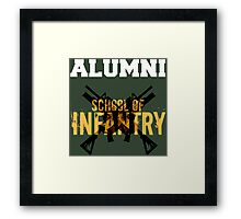 School of Infantry Alumni Framed Print