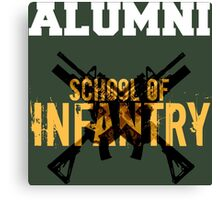 School of Infantry Alumni Canvas Print
