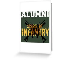 School of Infantry Alumni Greeting Card