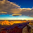 Clouds Over The Grand Canyon by photosbyflood