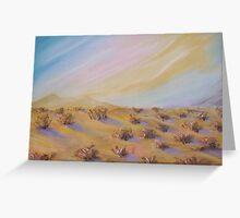 Desert Shrubs Anthony Mitchell  Greeting Card