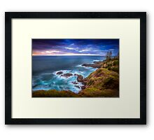 First Light Pt 2 Framed Print