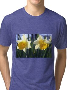 Two daffodils Tri-blend T-Shirt