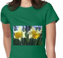 Two daffodils Womens Fitted T-Shirt