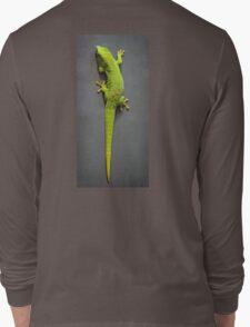 Bright Green Gecko Long Sleeve T-Shirt