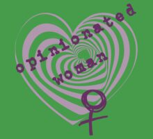 Opinionated Woman by incurablehippie