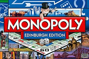 My Published Work - Monopoly 2010 Edinburgh Version by Chris Clark