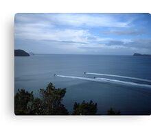 scenic black ops ocean Canvas Print