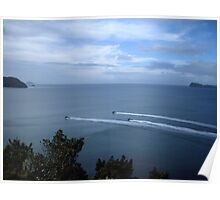 scenic black ops ocean Poster