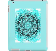 Blue symmetry  iPad Case/Skin