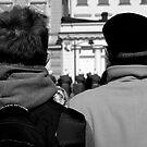 """City Life - """"Watchers"""" by Denis Molodkin"""