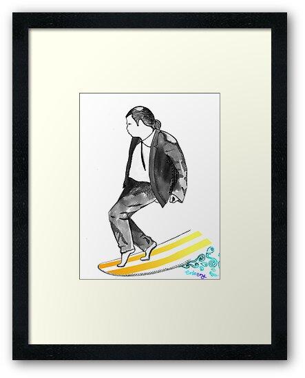 John SirVolta (surf-ol-ta) by Jason Embery