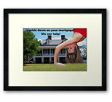 Real Estate Framed Print