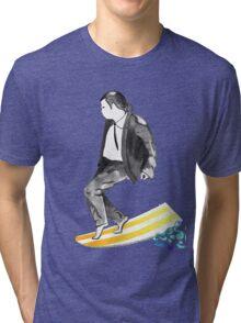 John SirVolta (surf-vol-ta) Tri-blend T-Shirt