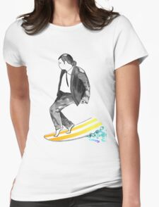 John SirVolta (surf-vol-ta) Womens Fitted T-Shirt