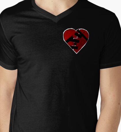 How To Mend a Broken Heart: The Rock Way Mens V-Neck T-Shirt
