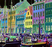 Copenhagen. Nyhavn Colors by Igor Shrayer