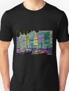 Copenhagen. Nyhavn Colors Unisex T-Shirt