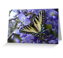 Wysterious Swallowtail Greeting Card