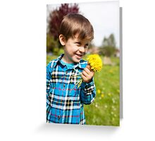 mother day concept Greeting Card