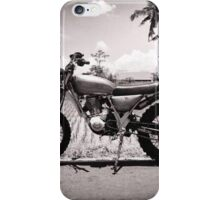 scrambler trail tracker iPhone Case/Skin