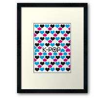 K-POP holic Framed Print