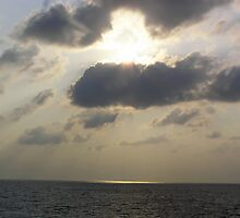 The brilliance of a sunset on the waters off the Lakshadweep Islands by ashishagarwal74