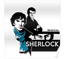 game is on...sherlock!!! Poster