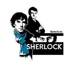 game is on...sherlock!!! Photographic Print