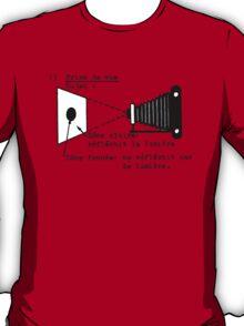 la prise de vue T-Shirt