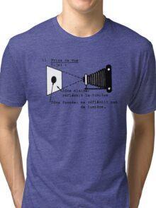 la prise de vue Tri-blend T-Shirt