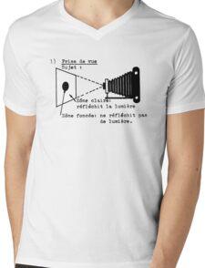 la prise de vue Mens V-Neck T-Shirt