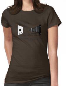 la prise de vue Womens Fitted T-Shirt