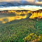Light Rock - Blue Mountains World Heritage Area - The HDR Experience by Philip Johnson