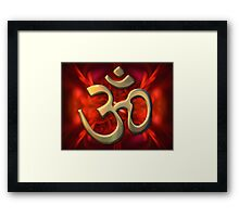 The Sacred Syllable Framed Print