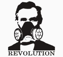 Revolution - Abraham Lincoln Gask Mask One Piece - Short Sleeve