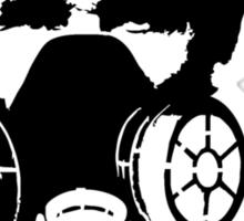 Revolution - Abraham Lincoln Gask Mask Sticker