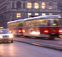 Prague at Night by ChrisHarvey67