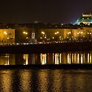 Nightscape from Charles Bridge # 1 (Prague) by ChrisHarvey67