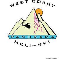 West Coast Panorama Heli-ski Photographic Print