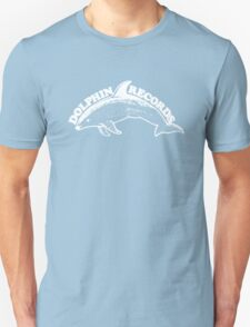 Dolphin Records - white Unisex T-Shirt