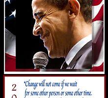 Barack Obama 44th President by Bobbi Miller-Moro