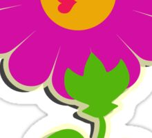 The power of flowers Sticker