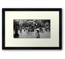 Crazy Road Framed Print