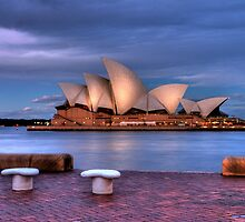 The Opera House at Dusk by Mac Cabrera