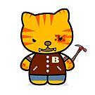 Hotline Kitty Tony by bobbydanger