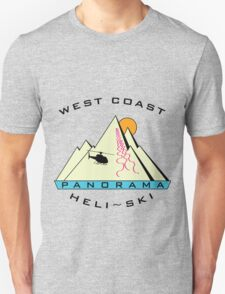 West Coast Panorama Heli-ski Unisex T-Shirt
