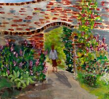 The Walled Garden by GEORGE SANDERSON