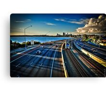 Gritty City Canvas Print